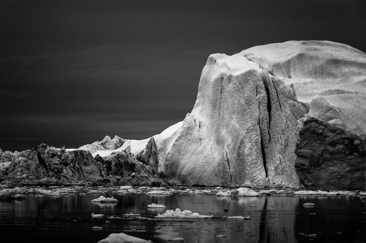ICE ON BLACK, Greenland on Behance