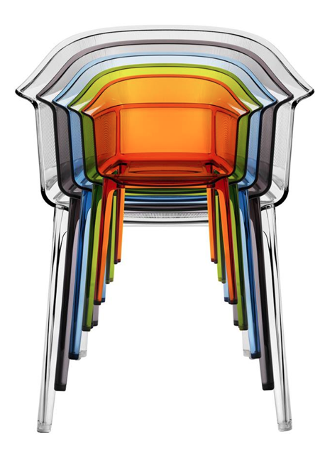 papyrus chair by ronan and erwan bouroullec rainbow pinterest
