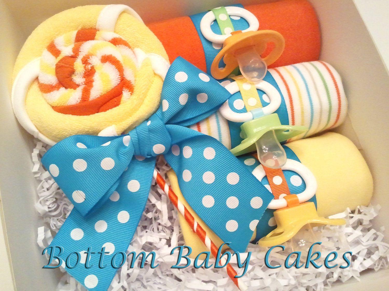 Baby Onesie Cupcake Gift Set
