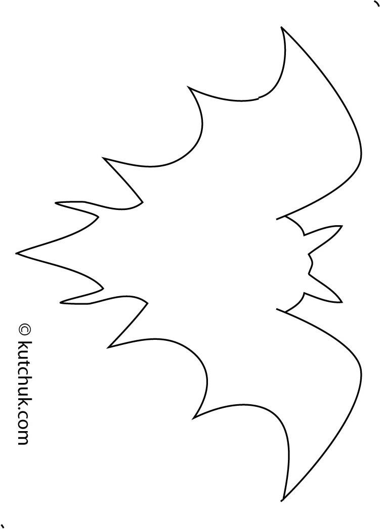 Halloween paper craft for kids and teens decorations et - Deco halloween chauve souris ...