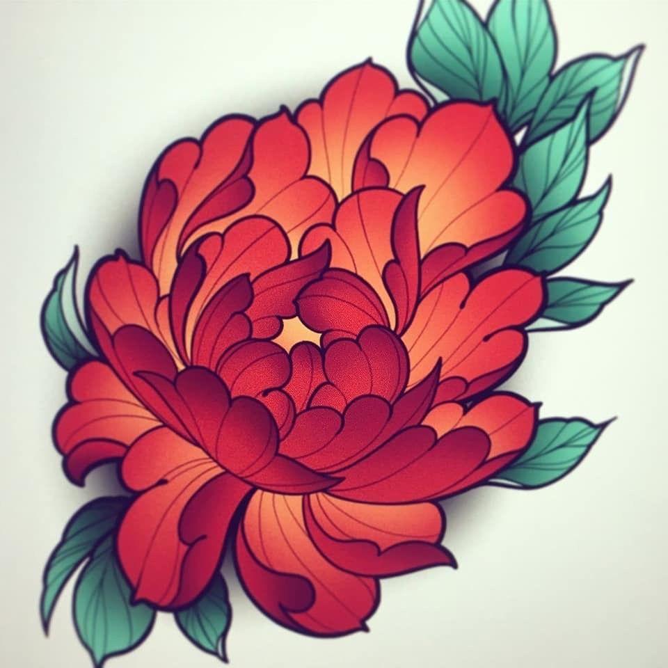 Pin by Lauren Freeman on Tattoo | Japanese flower tattoo