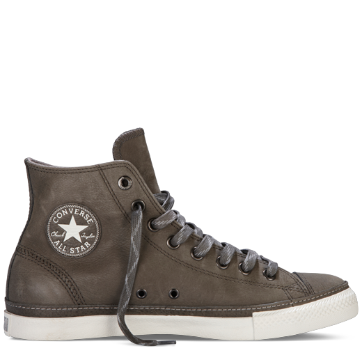 Profile Taylor Hi Charcoal Leather Converse Chuck Low qt7Wn7P4