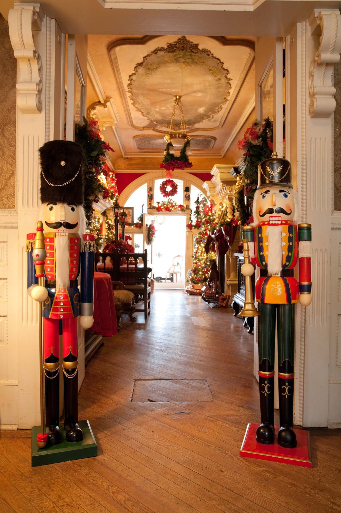 Victorian Christmas at Korner's Folly, nutcrackers in ...