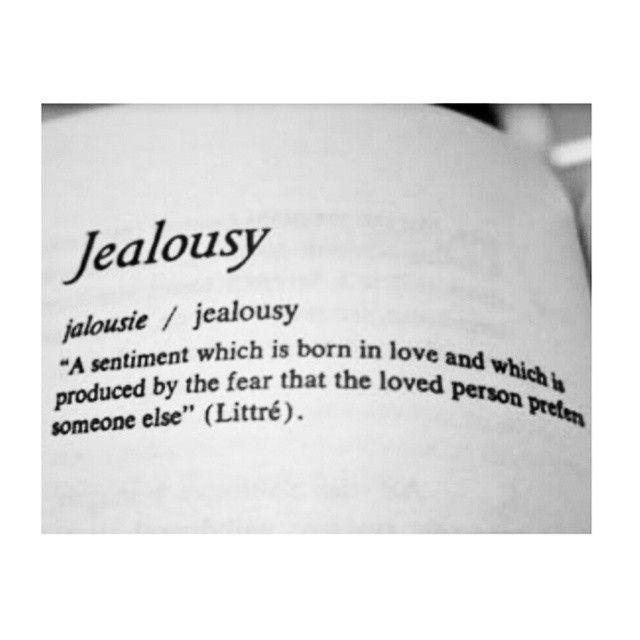 Jealousy --- jalousie / jealousy --- \