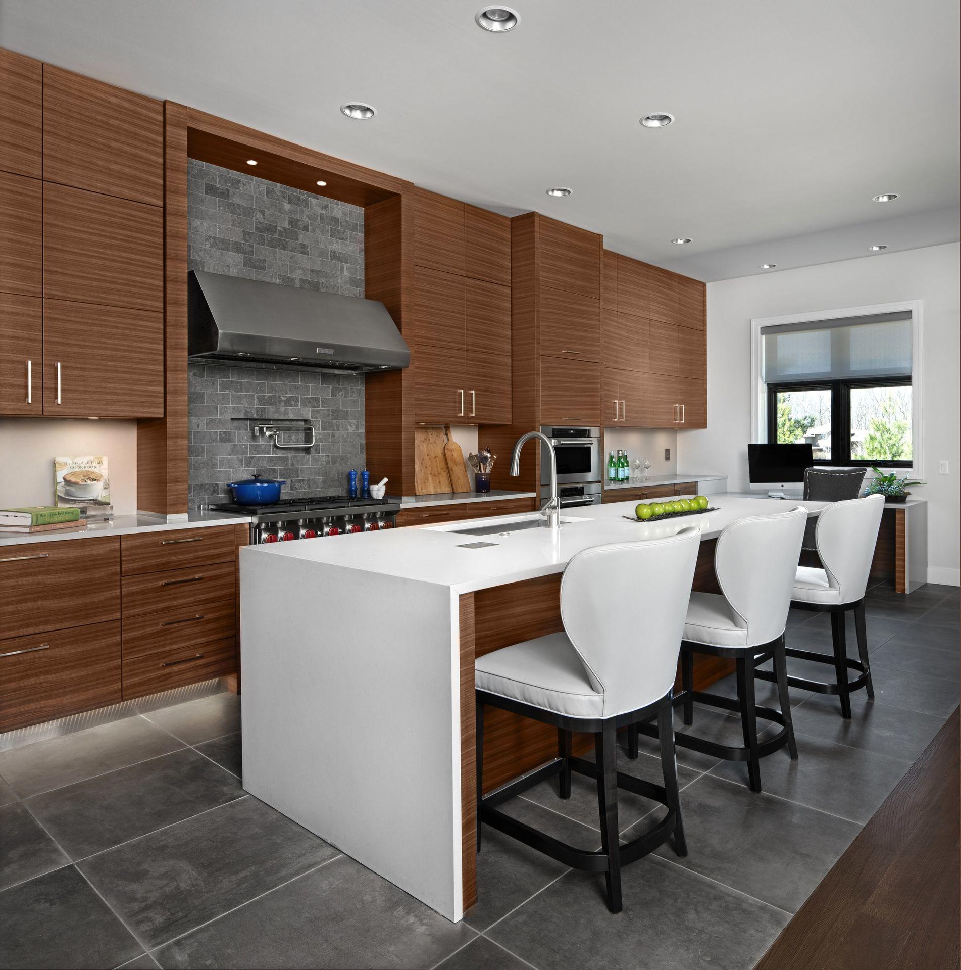 contemporary walnut grabill cabinets kitchen cabinetry contemporary cabinet on kitchen cabinets modern contemporary id=84727