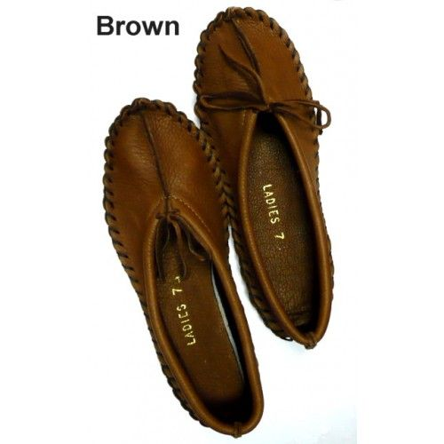 Deerskin Moccasin Boots, Shoes, and Slippers for Women