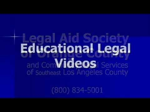 Welcome Learn About Our Legal Videos And Free Services 844 292 1318 California Legal Aid Welcome To The Legal Aid So Legal Services Legal Video Services