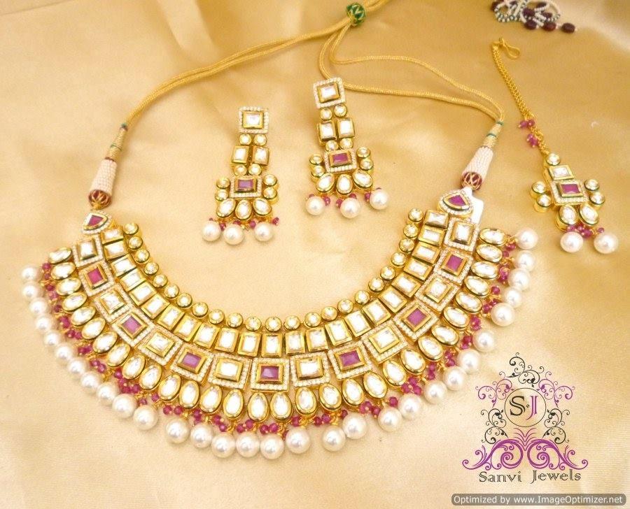 Bridal Ornaments Bide Necklace Sets Pinterest