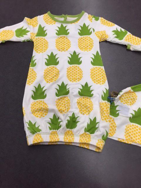 Kickee Pants Pineapple Gown | Kickee Pants | Pinterest