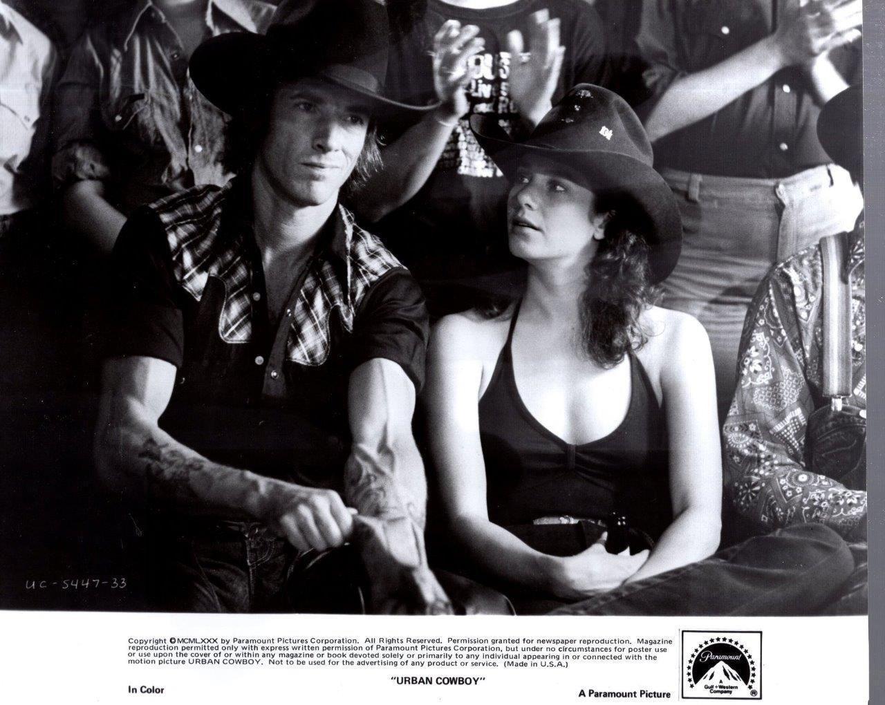 1980 Urban Cowboy Urban cowboy, Vintage movies, John