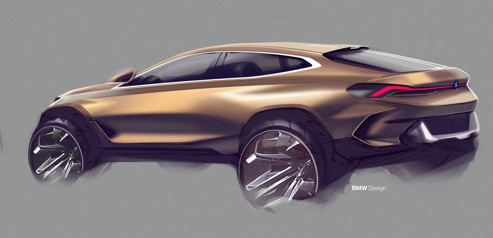 New Bmw X6 Design Sketch 2020