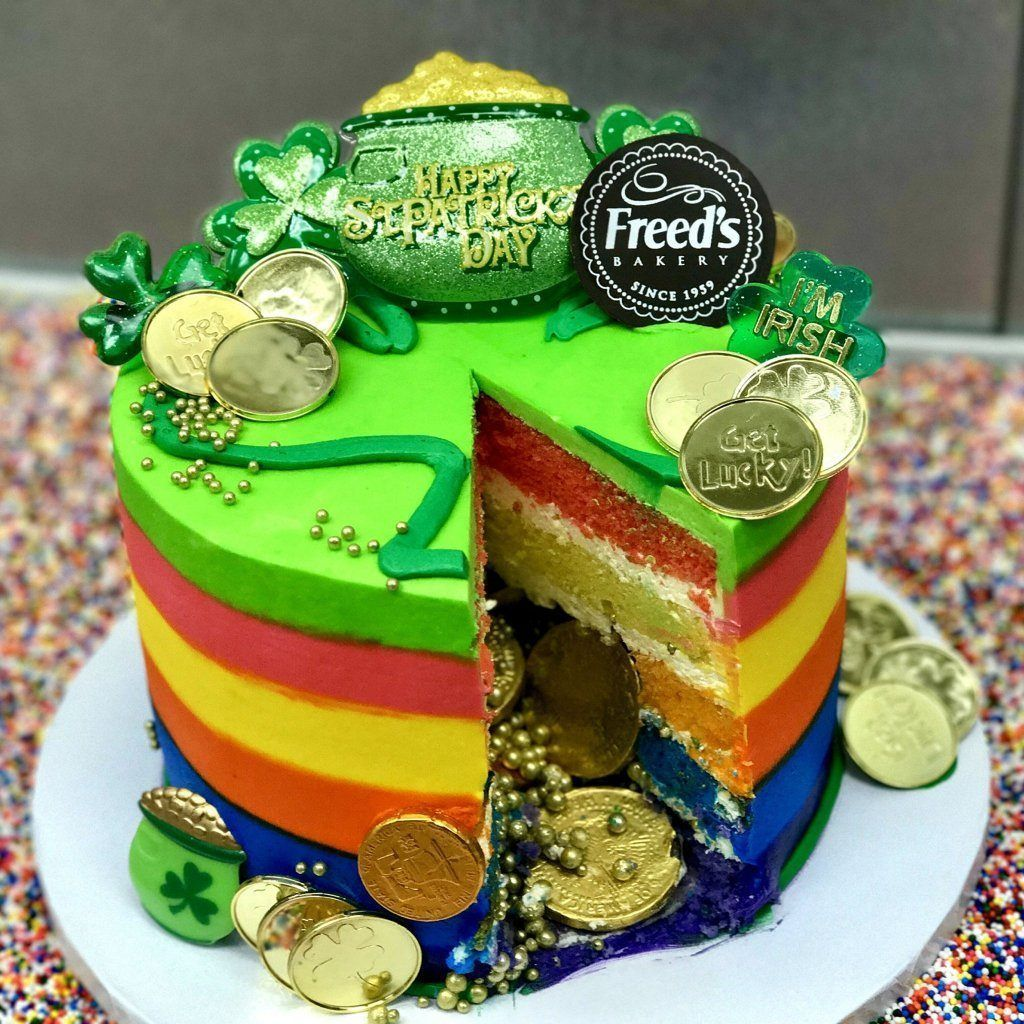 Gold at the rainbow just cakes rainbow layer cakes