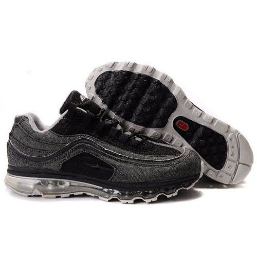 Chic Nike Max Air 24/7 Black - Grey Men Shoes For US$63.24 Go To:  http://www.cheapnikeairmaxshoesshop.com/