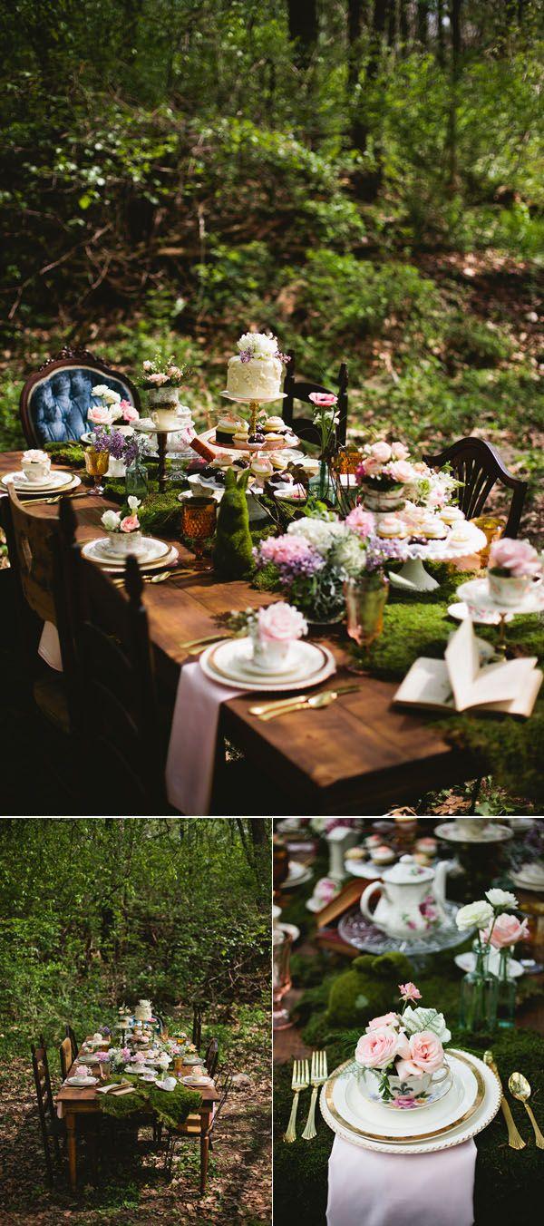 40 Stunning Woodland & Forest Wedding Reception Ideas | Boho ...