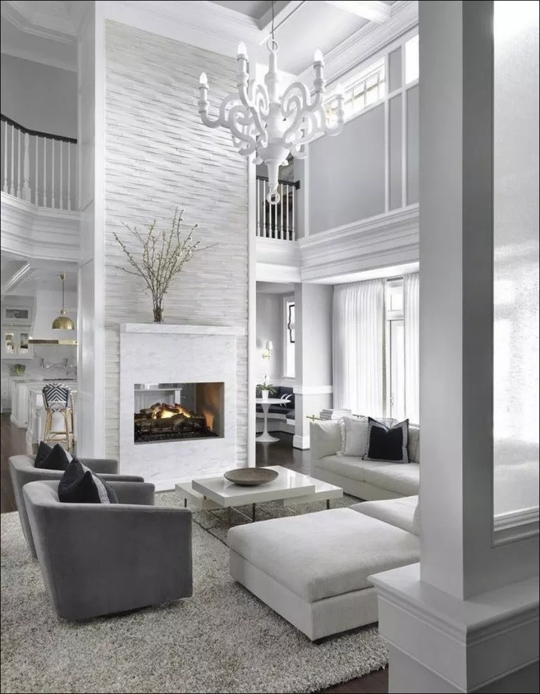 45 Extraordinary Ideas Of Living Room With Fireplace Couponxcode Info Livingroom Hom White Living Room Decor Living Room Design Modern Elegant Living Room #white #living #room #with #fireplace