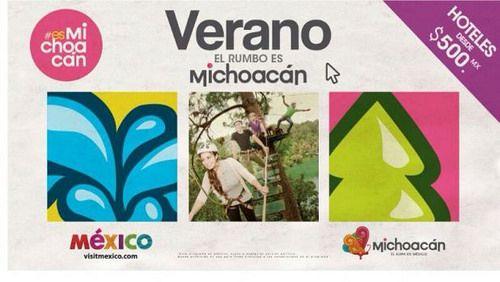 Sin duda este Verano #elRumboesMichoacán #VisitaMichoacán somos #elAlmadeMéxico . Déjate sorprender por todos los encantos naturales, culturales y artesanales, que rodean cada rincón de nuestro bello estado y déjate consentir por la calidez de nuestra gente. Te esperan las mejores tarifas, no lo pienses más! www.vivemichoacan.com