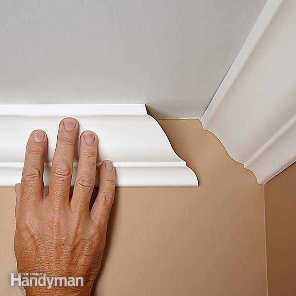 How To Cope Joints Moldings Carpenter And Gloves