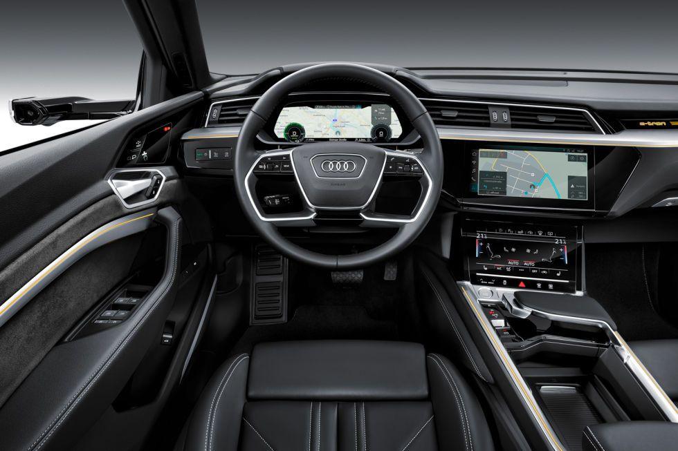Audi ETron (2018) Зеркало