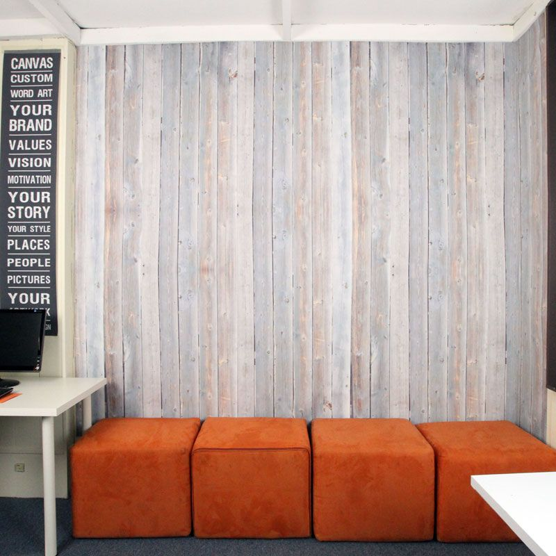 Wallpaper that resticks- no glue – perfect for self install! | 9 to 5 | Pinterest | Plank, Soft ...