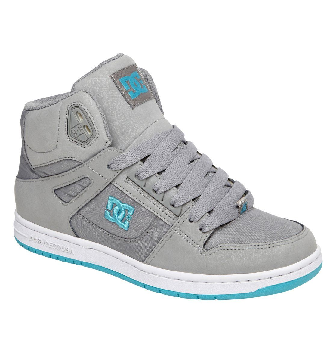 Zapatos negros DC Shoes Rebound para mujer