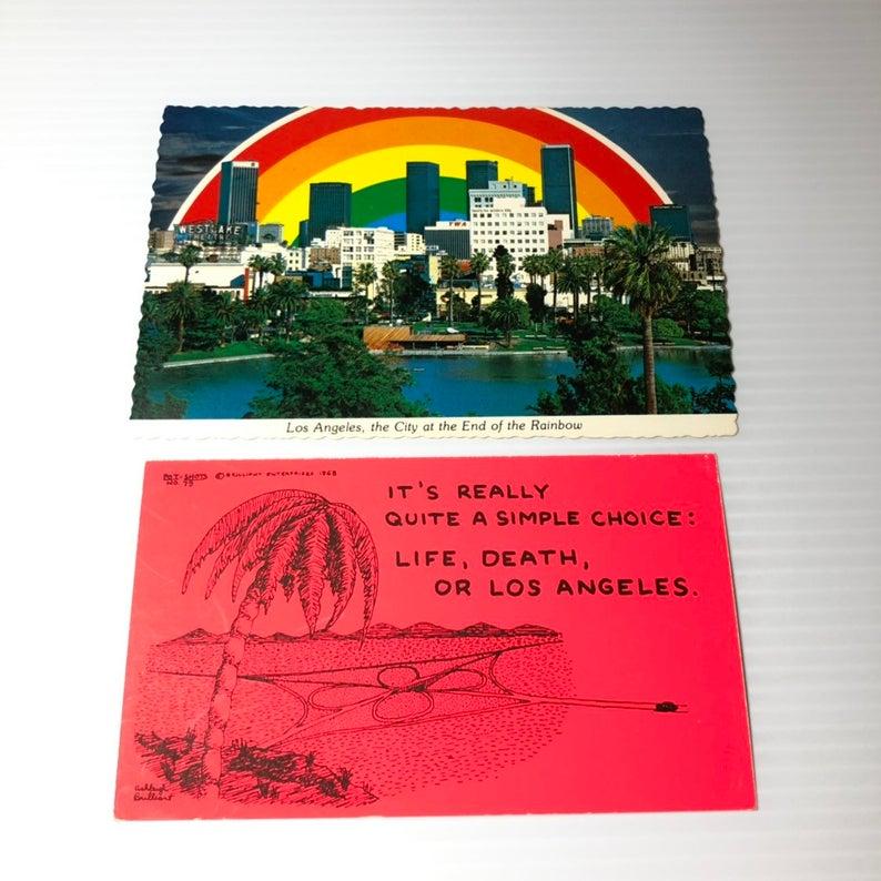 Rainbow Cave Vintage Postcard