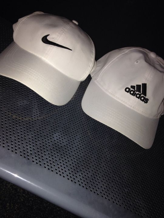 414272e496a White nike and adidas hats.  young gods  ੈ✩‧₊˚ . adidas
