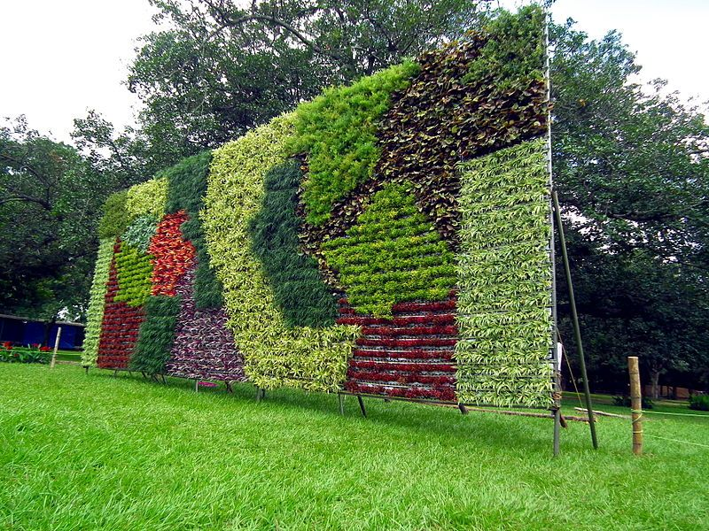 File:Vertical Garden during Lalbagh Flower show August 2013 - 2.JPG