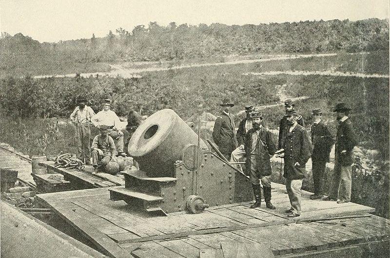 The 3rd Indiana Cavalry at Petersburg, Virginia, November