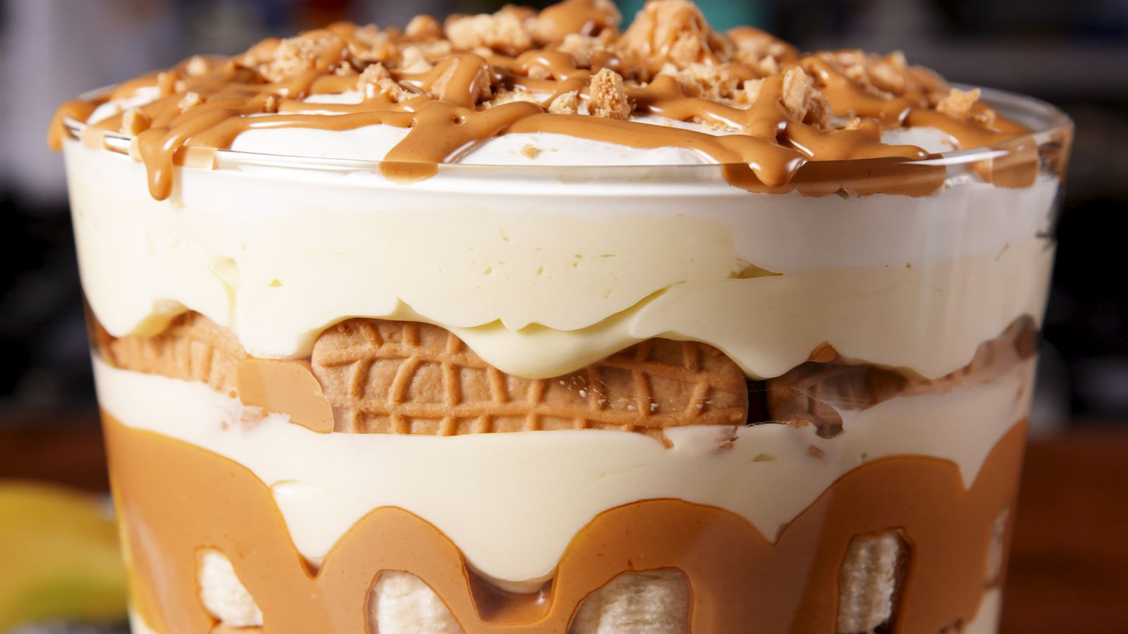 Peanut Butter Lovers Will Die Over This Peanut Butter Banana Pudding Recipe Peanut Butter Recipes Banana Pudding Banana Pudding Recipes