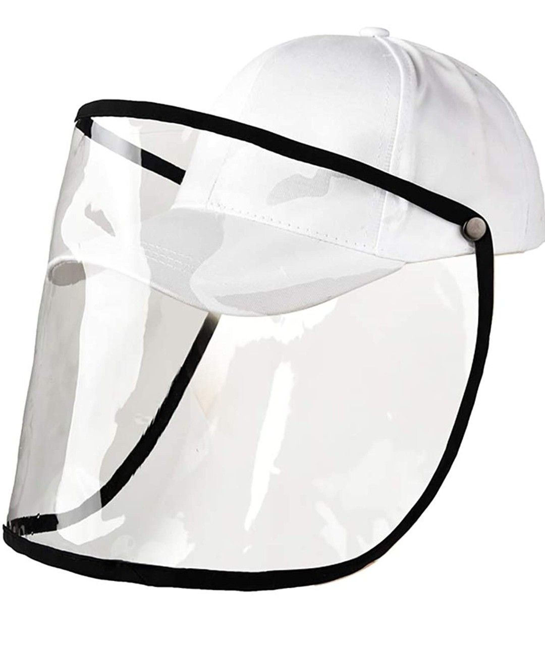 Face Shield Mouth Mask Baseball Cap 2 In 1 For Germ Protection For Air Pollution In 2020 Face Shield Masks Mask Face Shield