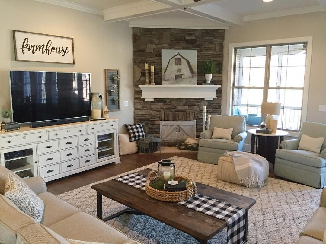homedecorlivingroomcozy  corner fireplace living room