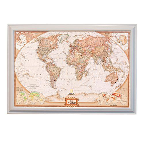Executive world push pin travel map with white frame and pins 24 x executive world push pin travel map with white frame and pins 24 x 36 httpamazondpb00mou0ovorefcmswrpiawdmaa1lub0xp52df gumiabroncs Images