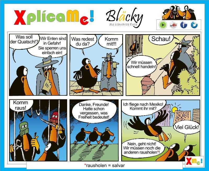 Continuamos con las aventuras de nuestro compañero Bläcky!!... www,facebook.com/xplicame