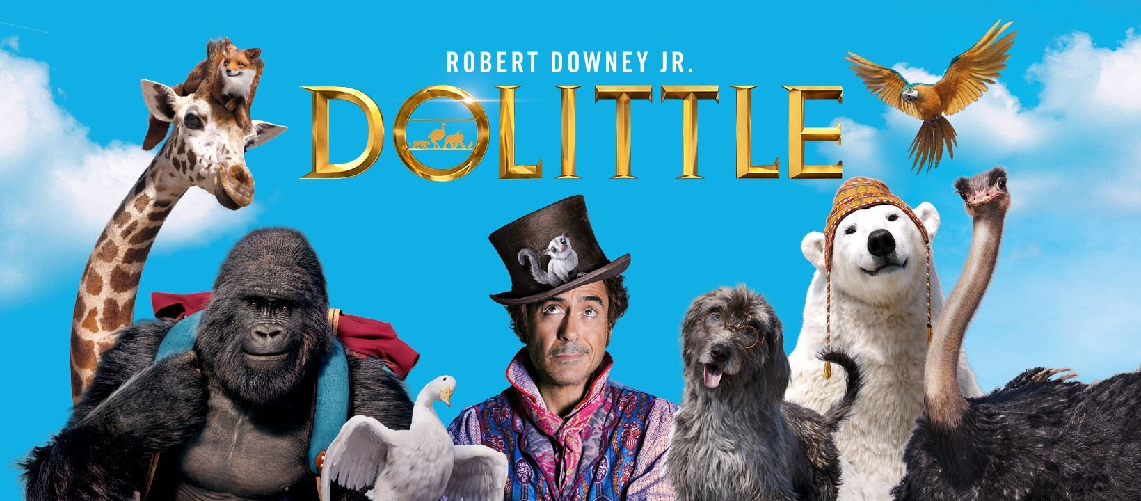 Dolittle My quick read movie review and rating have been