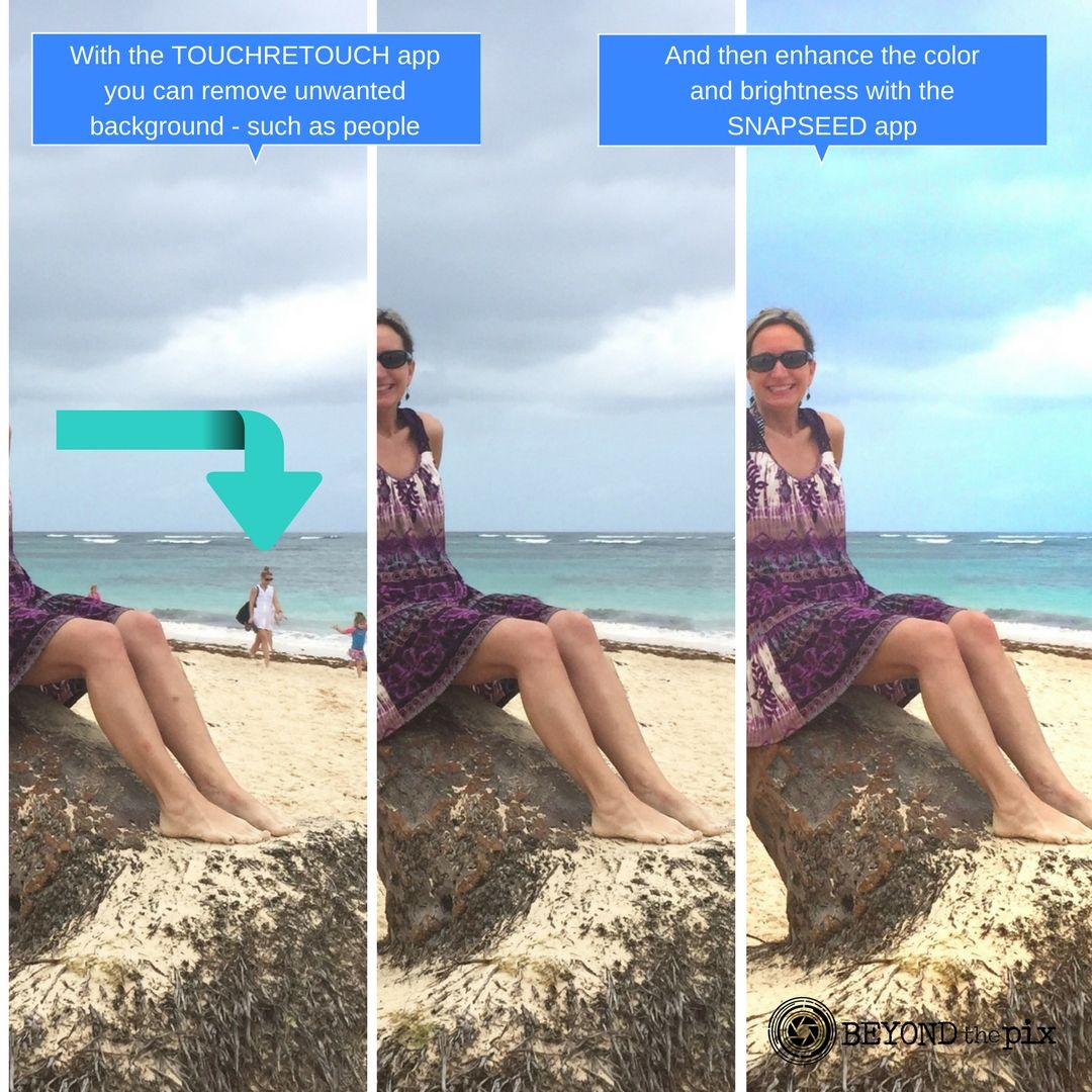 How to easily get rid of unwanted content from you photos