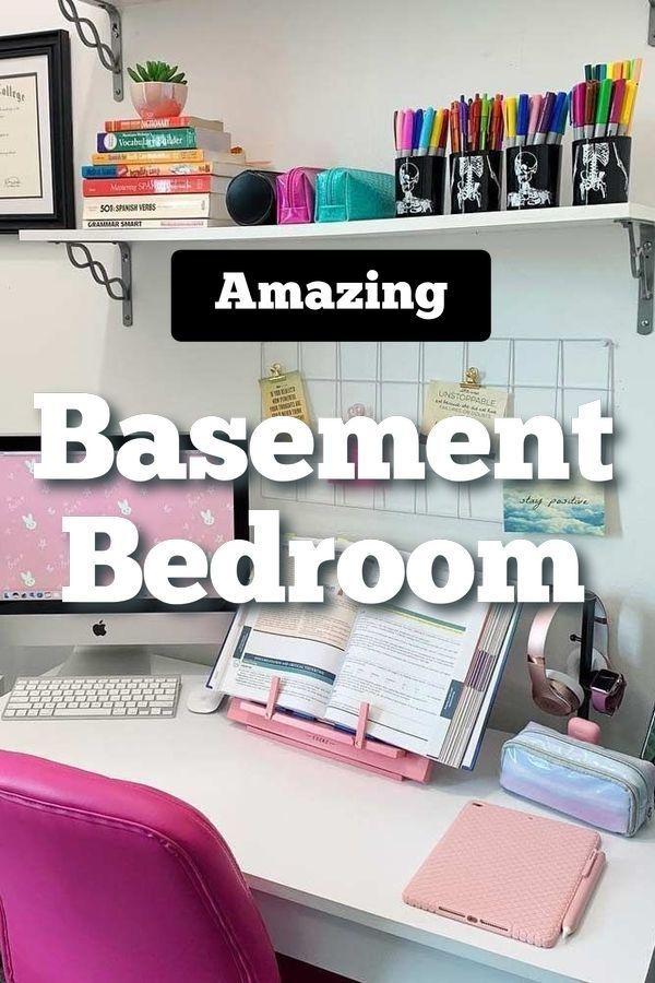 Photo of 20 ausgezeichnete schmale Keller Schlafzimmer, #Basement, Keller #Bedroom #Excellent #C …
