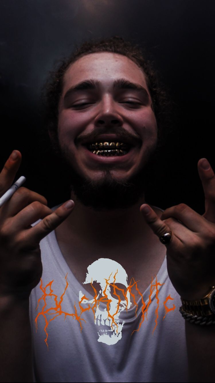 Post Malone Iphone Background (266667) HD Wallpaper