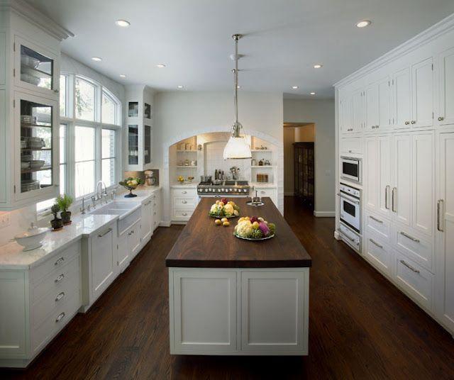 white do i love everything white home design decor pinterest kitchens house and. Black Bedroom Furniture Sets. Home Design Ideas