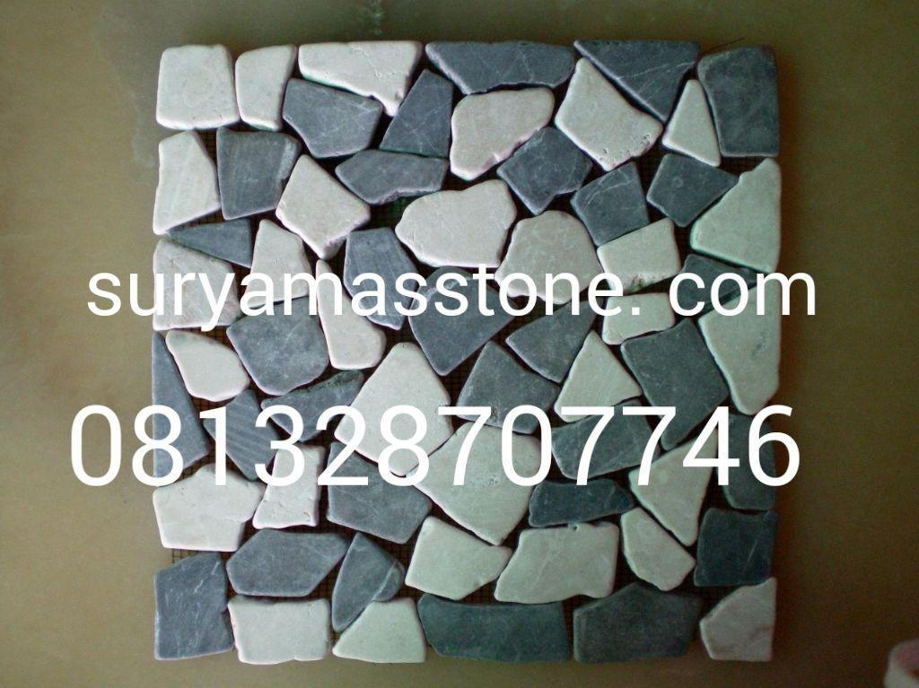 Batu Mulia Kalimantan Marmer Kerajinan Bahan Alam Batu Satam