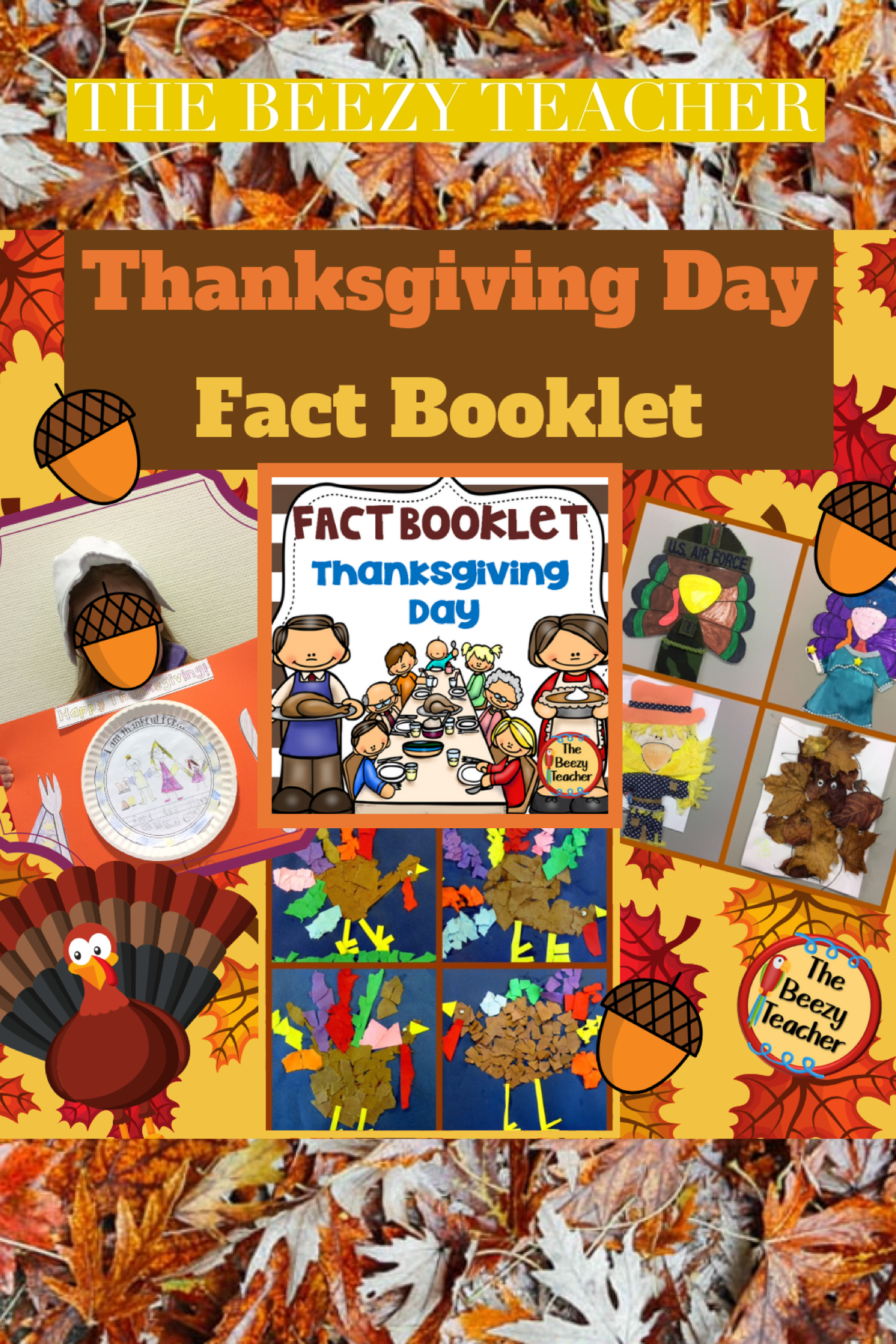 Thanksgiving Day Fact Booklet
