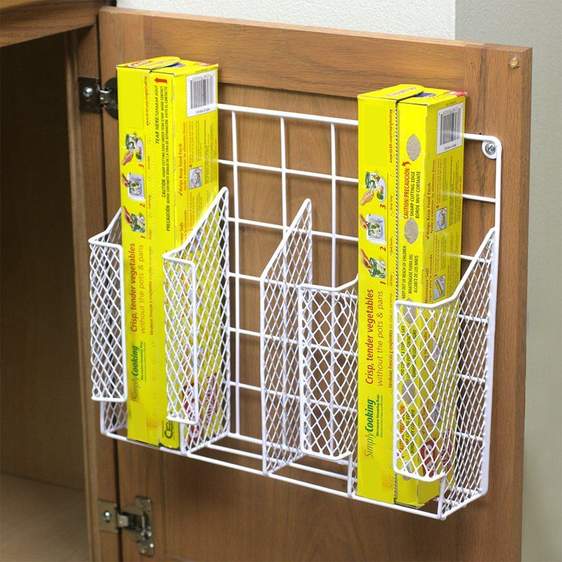 Dining Room Storage Ideas To Keep Your Scheme Clutter Free: HDS TRADING CORP Kitchen Wrap Organizer & Reviews