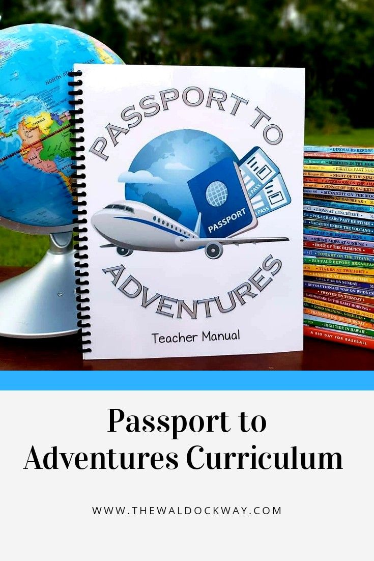 Passport to Adventures Curriculum  #sciencehistory