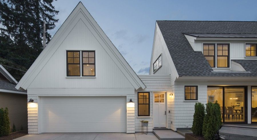 Zenith Residence Peterssen Keller Architecture Garage Door Design Garage Exterior Garage Design