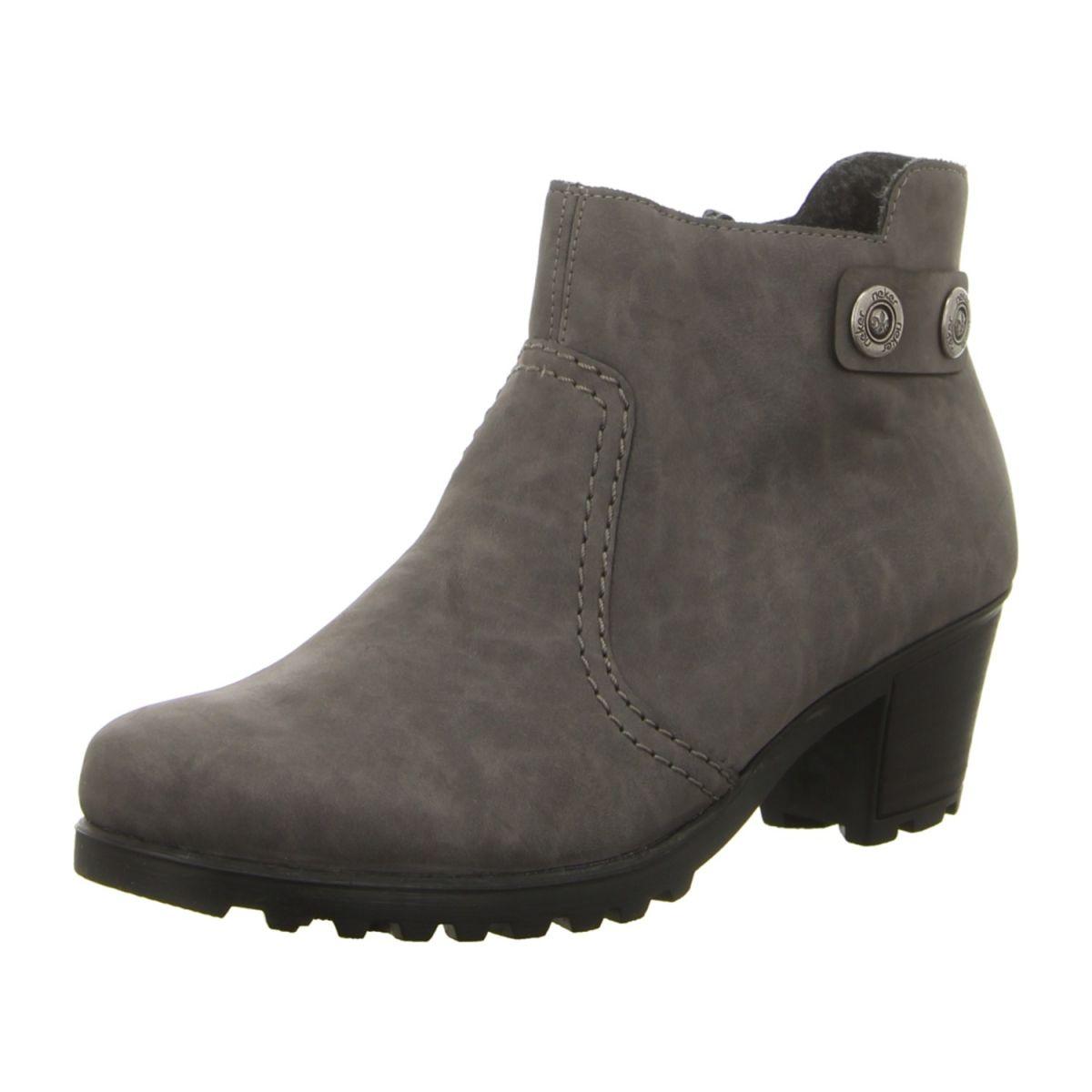 Rieker Schuhe Stiefelette Y8062-42 grau (grau) NEU