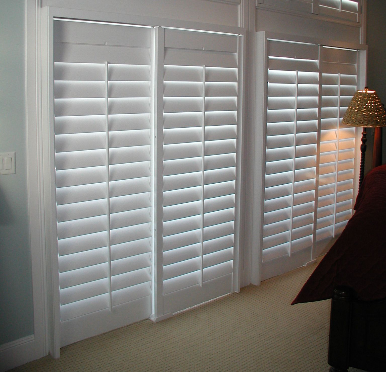 Sliding door shutters offer quality, functionality, and
