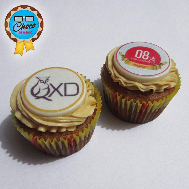 Deliciosos cupcakes de zanahoria con buttercream de dulce de leche para celebrar el 8vo aniversario de QXD