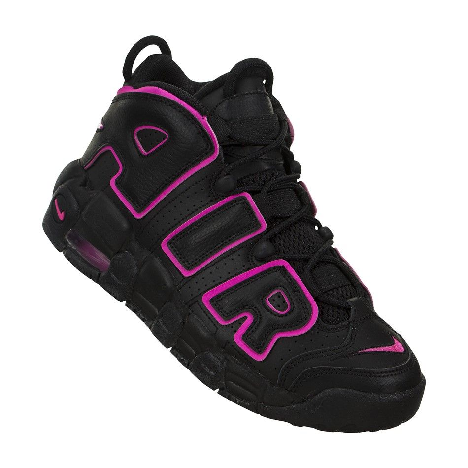 outlet store d2284 370ae Nike Air More Uptempo GS Now the Nike Air More Uptempo bring color for  ladies, with this hyper pink.
