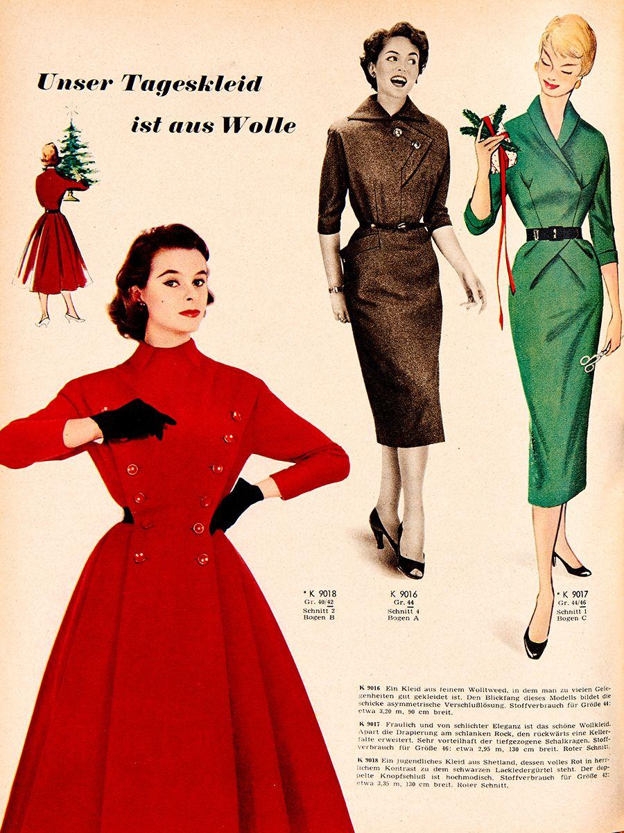 Викрійка Сукня із застібкою поло з burda 1955: купити