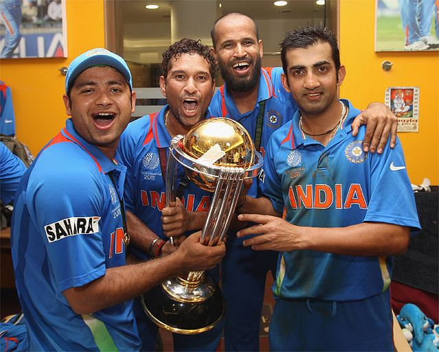 India Wins 2011 Cricket World Cup By Pawanyal Via Flickr Cricket World Cup 2011 Cricket World Cup 2015 Cricket World Cup