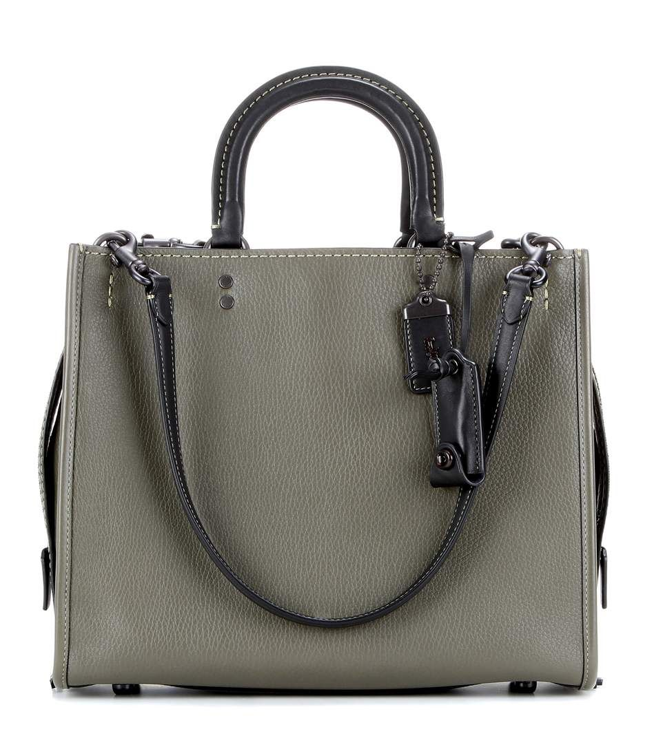 coach rogue leather tote coach bags shoulder bags